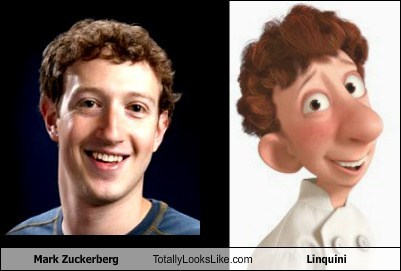 Mark Zuckerberg Totally Looks Like Linquini
