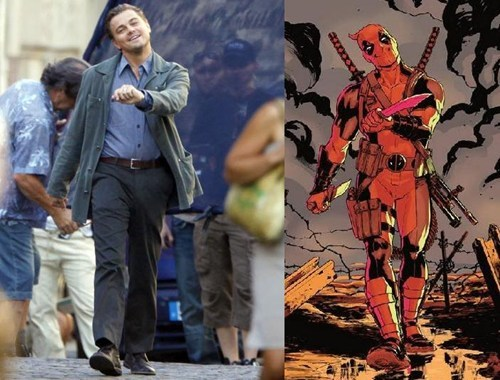 leonardo dicaprio,deadpool,off the page