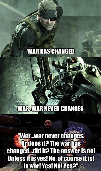 War and Stuff