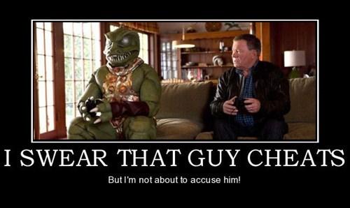 Captain Kirk,lizard,William Shatner,funny