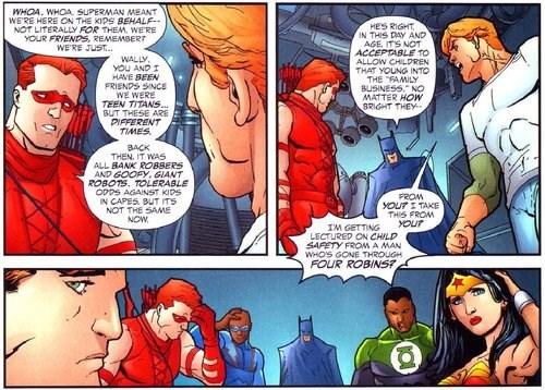 Teen Titans or Child Labor?