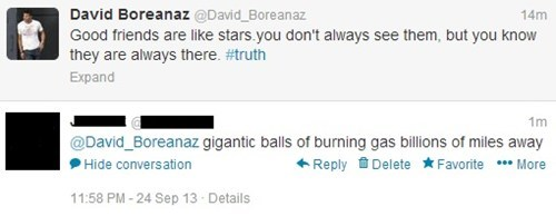 David Boreanaz,forever alone,angel,friends,stars