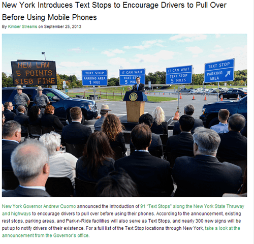 Finally, an Answer to Ridiculous Driving Texters