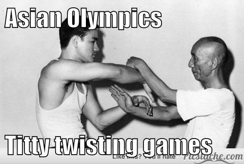 Asian Olympics   t*tty twisting games
