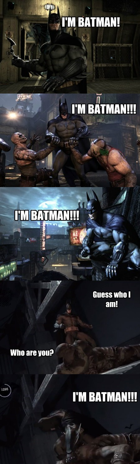 The Thing with the Batman Games