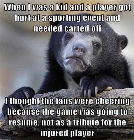 sports,americana,Memes,Confession Bear