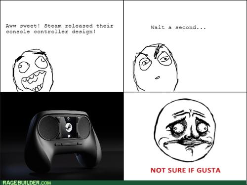 Steam Controller RAGE!
