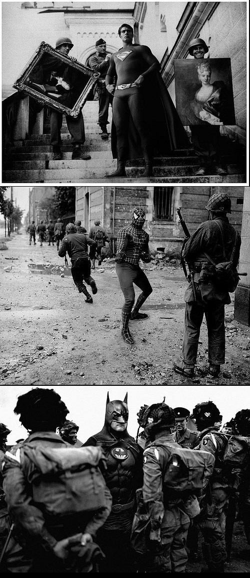 WWII With Superheroes