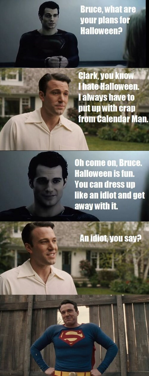 Batman's Perfect Halloween Costume