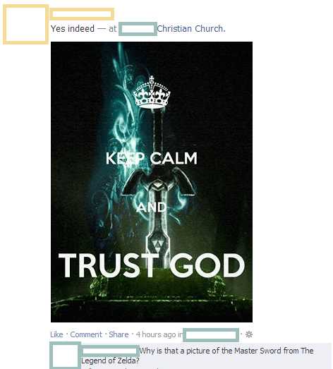 Keep Calm When Link is God