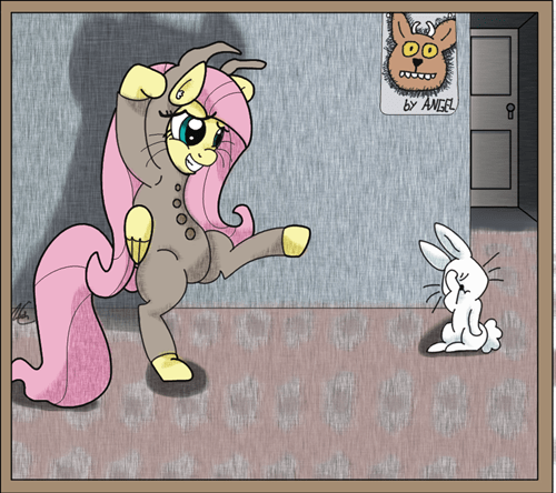 Fluttershy, You're Trying To Hard
