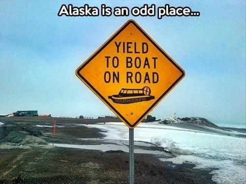 "Canada May Be the ""Great White North,"" But Alaska is the ""Great Weird North"""