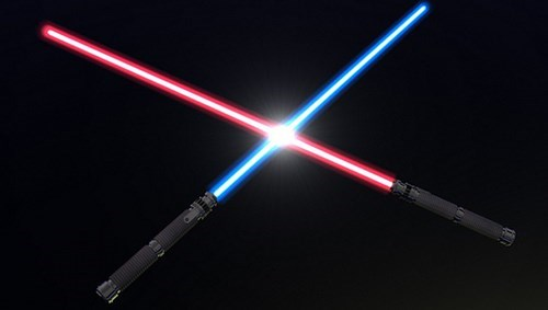 WAIT?! LIGHTSABERS COULD BE REAL?