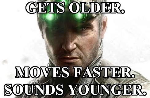 Anti-Aging Sam Fisher