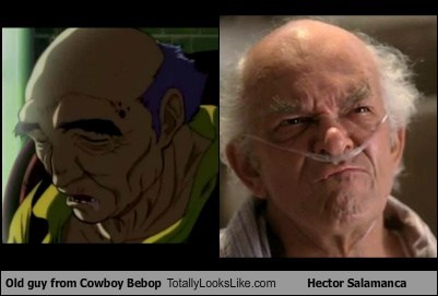 Old guy From Cowboy Bebop Totally Looks Like Hector Salamanca