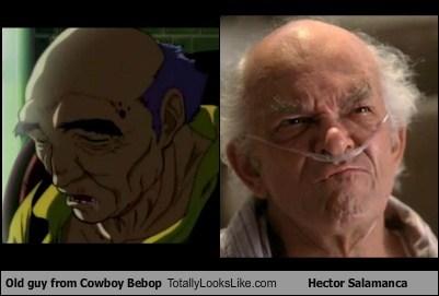 hector salamanca,old guy,totally looks like,cowboy bebop,funny