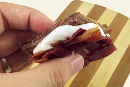 Bacon-Weave S'mores Prove That Maybe There's Some Good Left in the World