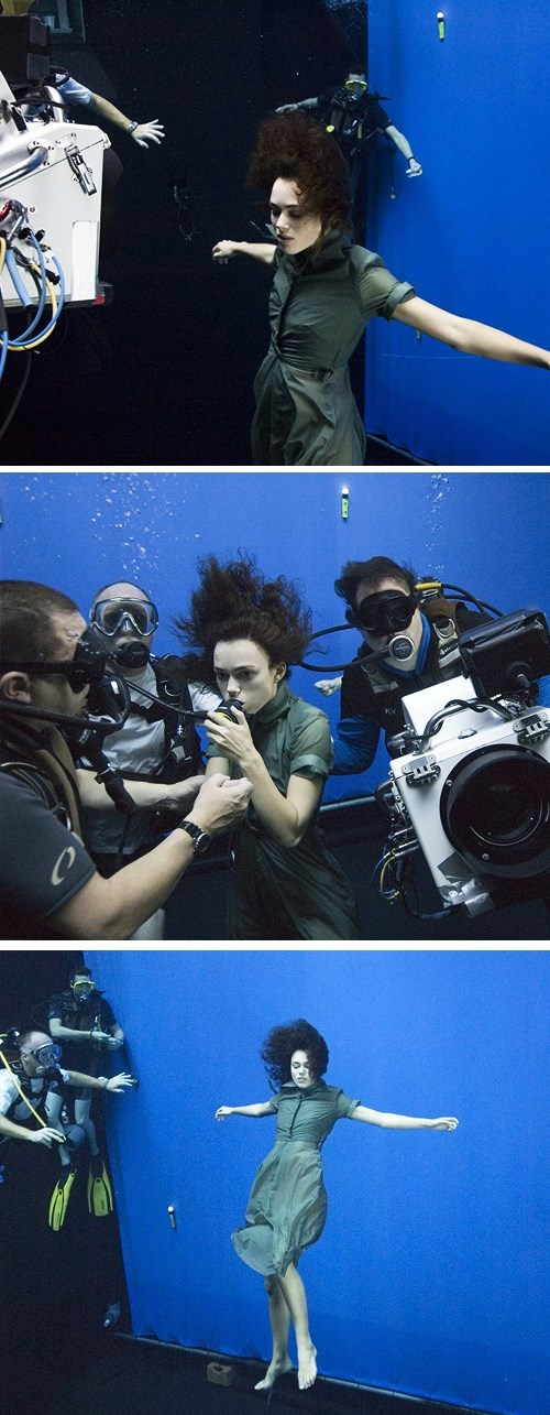 Keira Knightley's Underwater Level