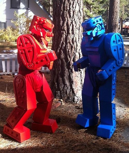 costume,halloween,uproxx,rock em sock em robots,funny