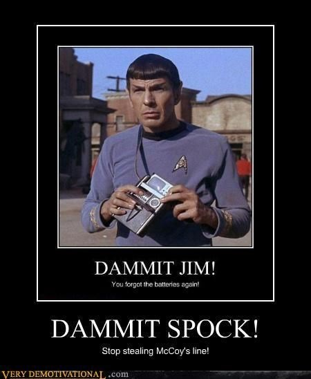 Spock Never Gets the Good Lines