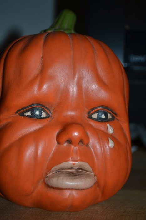 Baby Pumpkins Are Horrifying