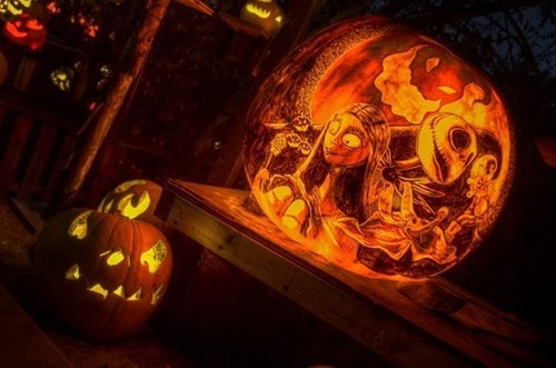 We Can Carve Like Jack and Sally if We Want To