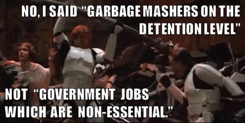star wars,shut down,garbage mashers