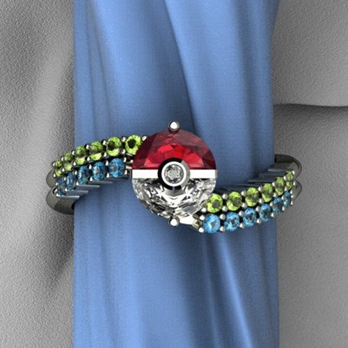 The Perfect Engagement Ring for the Release of X and Y!