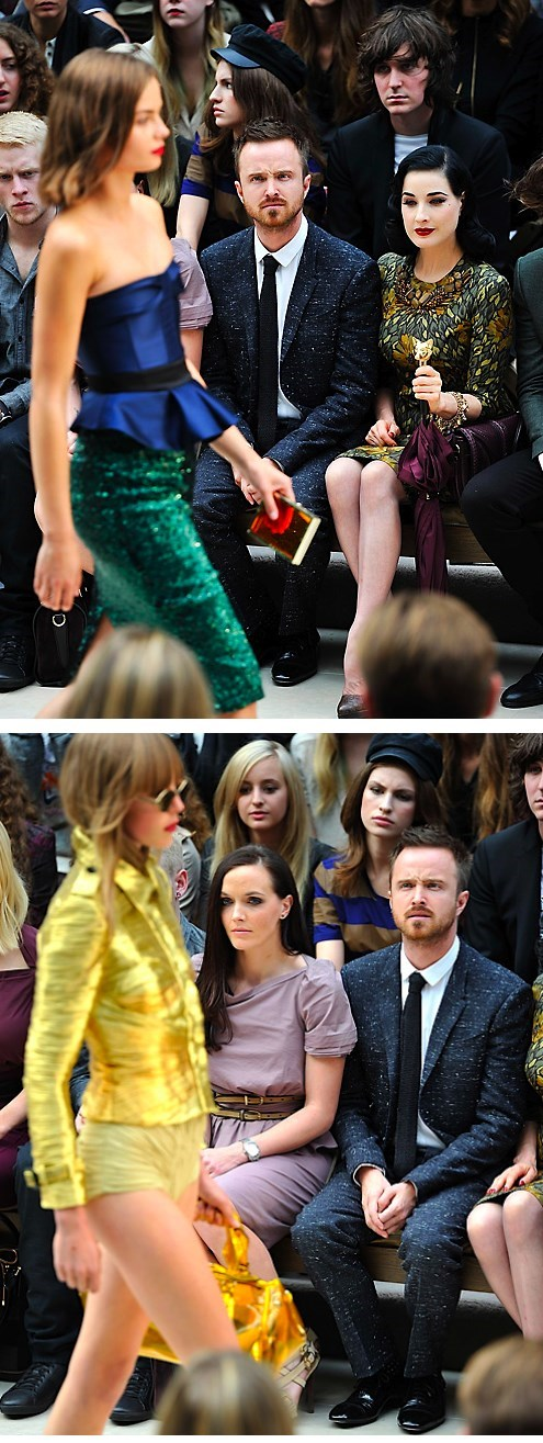 Fashion Confuses Aaron Paul