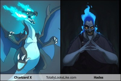 Charizard X Totally Looks Like Hades