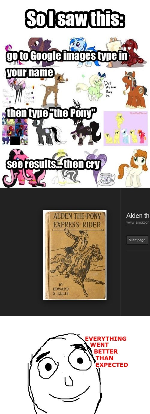 Alden The Pony Needs Some Fan Art