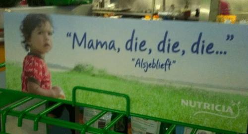 dutch,parenting,nutricia,advertisements