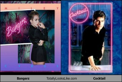 neon,Tom Cruise,bangerz,totally looks like,miley cyrus,funny,cocktail