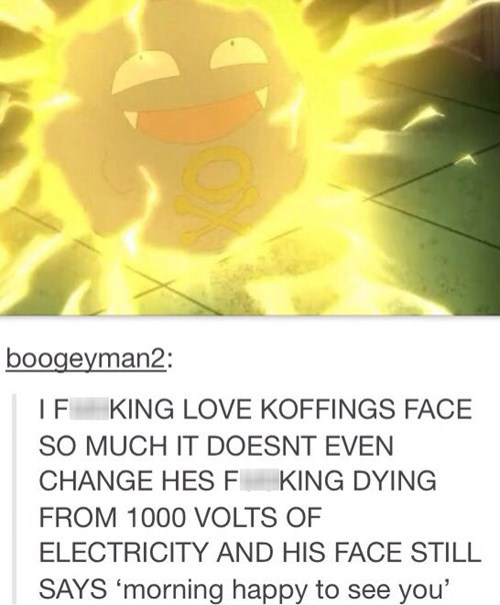 Koffing is Having a Good Day No Matter What