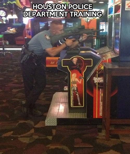 police training,silent scope,police