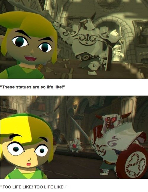 Link Had a Spook Taking a Selfie