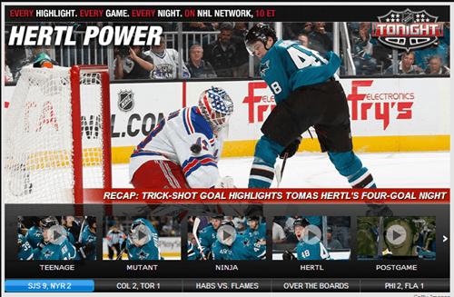 hockey,NHL,san jose sharks,headlines,hertl,monday thru friday,g rated