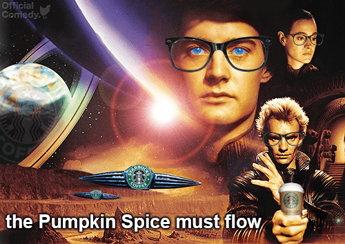 Dune,halloween,pumpkin spice,official comedy