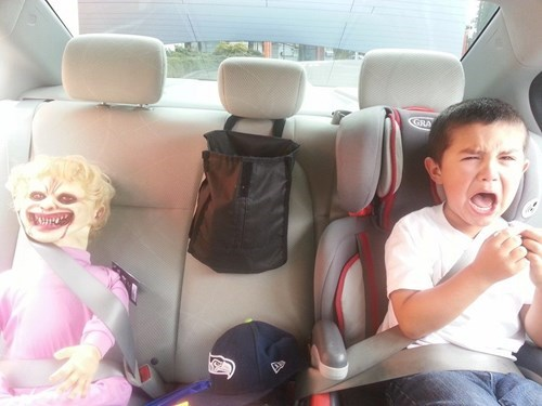 That's One Way To Get Kids to Share the Backseat