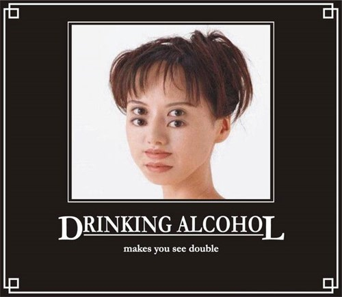 booze,drunk,seeing double,funny