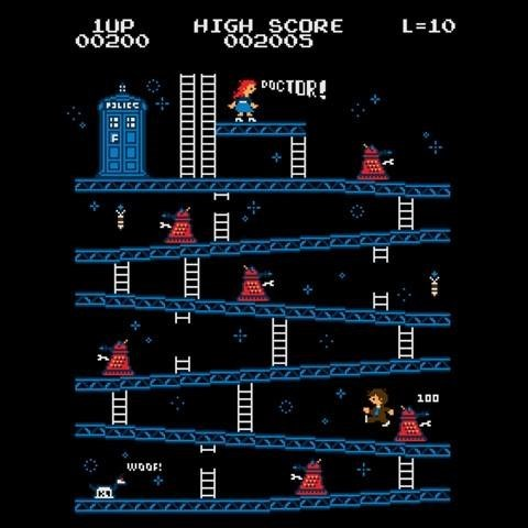 donkey kong,for sale,doctor who,video games