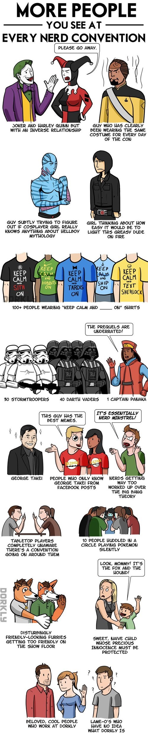 dorkly,conventions,web comics