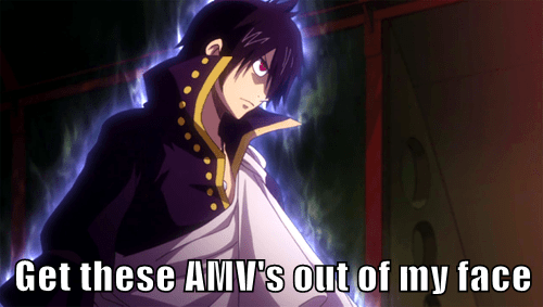 Whenever I'm Trying to Find Fairy Tail Clips on Youtube