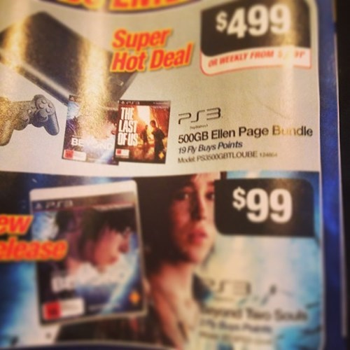 ellen page,beyond two souls,playstation,the last of us