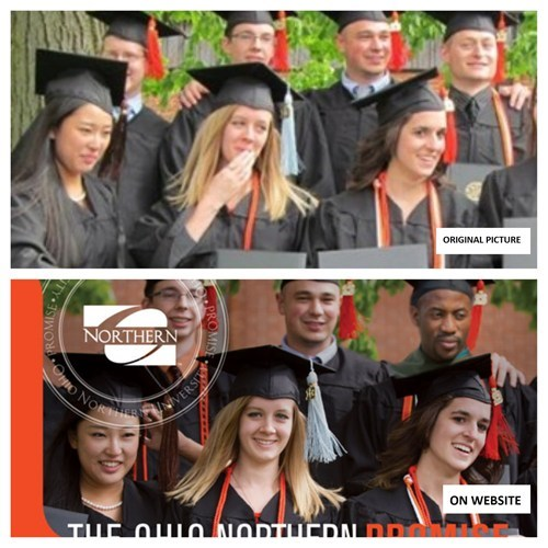 Ohio Northern University: Where Diversity is Photoshopped
