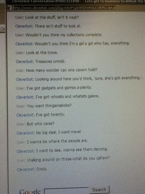 fashion,disney,Cleverbot,crocs,The Little Mermaid,poorly dressed,g rated