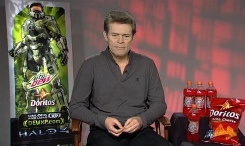 gamerscore,mountain dew,doritos,Willem Dafoe