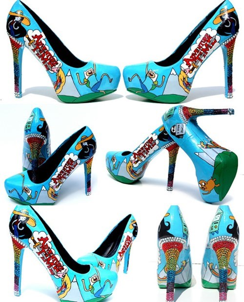 Go on Some Amazing Adventures in These Adventure Time Heels!