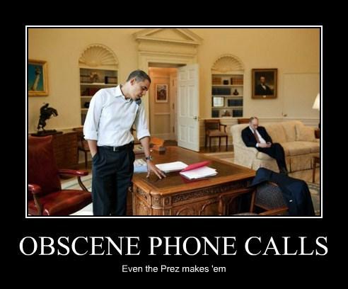 OBSCENE PHONE CALLS