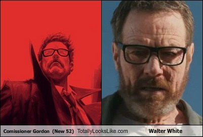 Commissioner Gordon Totally Looks Like Walter White